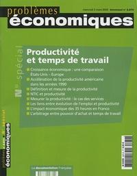 Robert-J Gordon et Gilbert Cette - Problèmes économiques N° 2870, mercredi 2 : Productivité et temps de travail.