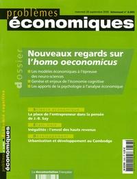 Bernard Paulré et Alain Guillaume - Problèmes économiques N° 2883 mercredi 28 : Nouveaux regards sur l'homo oeconomicus.