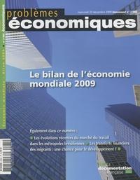 Patrice Merlot - Problèmes économiques N° 2985 : Le bilan de l'économie mondiale 2009.