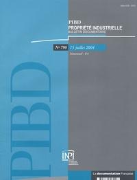 Françoise Quinault et Catherine Blanchard - Propriété industrielle, bulletin documentaire N° 790, 15 Juillet 2 : .