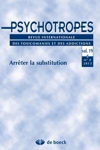De Boeck - Psychotropes Volume 19 - 2013/2 : .