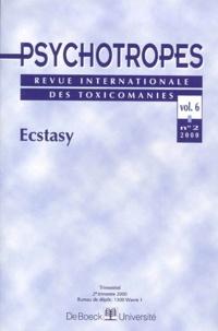 Pierre Angel - Psychotropes Volume 6 N° 2/2000 : Ecstasy.