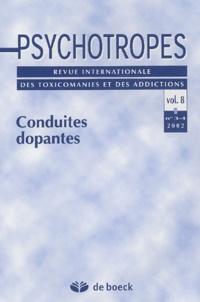 Pierre Angel - Psychotropes Volume 8 N° 3-4/2002 : Conduites dopantes.