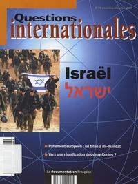 Serge Sur et Anne Le More - Questions internationales N° 28, Novembre-Déce : Israël.