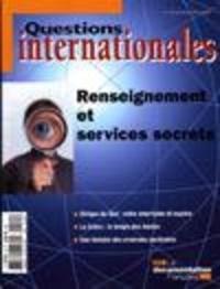 Serge Sur - Questions internationales N° 35, Janvier-févri : Renseignement et services secrets.