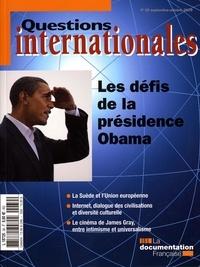 Serge Sur et Ezra Suleiman - Questions internationales N° 39, Septembre-oct : Les défis de la présidence Obama.