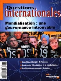 Serge Sur et Robert Kolb - Questions internationales N° 43, Mai-juin 2010 : Mondialisation : une gouvernance introuvable.