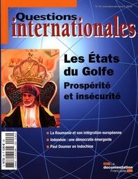 Serge Sur - Questions internationales N° 46, novembre-déce : Les Etats du Golfe - Prospérité et insécurité.