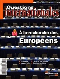 Serge Sur - Questions internationales N° 51, septembre-oct : A la recherche des Européens.