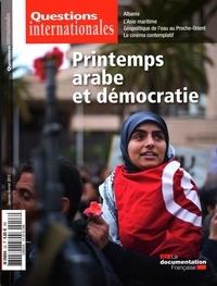 Serge Sur - Questions internationales N° 53, Janvier-févri : Printemps arabe et démocratie.