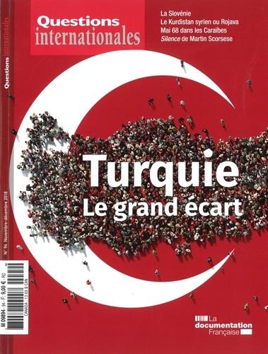 La Documentation Française - Questions internationales N° : La Turquie : le grand écart.