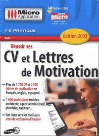 Réussir ses CV et lettres de motivation. CD-ROM.pdf