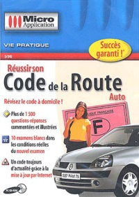 Editions Micro Application - Réussir son code de la route Auto - CD-ROM.