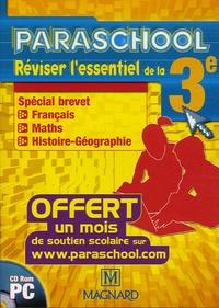 Magnard - Réviser l'essentiel de la 3e - CD-ROM.