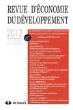 Patrick Guillaumont - Revue d'économie du développement N° 4, Décembre 2012 : Malaise dans l'évaluation : quelles leçons tirer de l'expérience du développement ? - Conférence AFD/EUDN 2012.