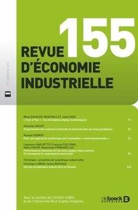 Maya Bacache-Beauvallet et Julia Cagé - Revue d'économie industrielle N° 155, 2016/3 : .