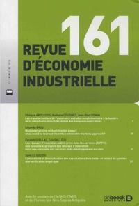 Jacques de Bandt - Revue d'économie industrielle N° 161, 1er trimestr : .