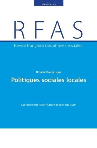 Ministère Affaires Sociales - Revue française des affaires sociales Hors-série 2019 : Politiques sociales locales.