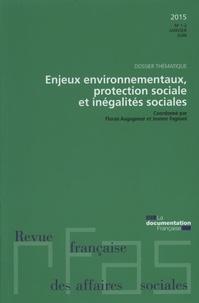 Ministère du Travail - Revue française des affaires sociales N° 1-2 : Enjeux environnementaux, protection sociale et inégalités sociales.