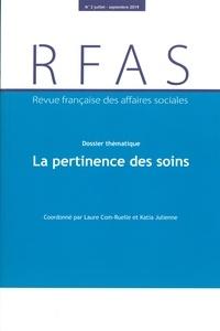 La Documentation Française - Revue française des affaires sociales N° 3/2019 : La pertinence des soins.