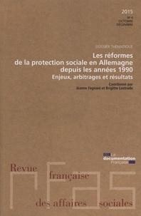 Jeanne Fagnani et Brigitte Lestrade - Revue française des affaires sociales N° : Les réformes de la protection sociale en Allemagne depuis les années 1990.