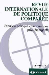 Jean-Louis Thiébault - Revue internationale de politique comparée Volume 18 N° 1/2011 : L'analyse politique comparée des pays émergents.