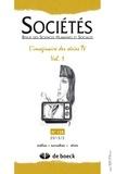 Vincenzo Susca - Sociétés N° 128 2015/2 : L'imaginaire des séries TV - Volume 1.