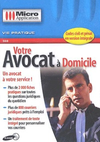 Editions Micro Application - Votre avocat à domicile - CD-ROM.