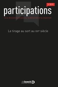 Dimitri Courant et Yves Sintomer - Participations N° 23, 2019/1 : Le tirage au sort au XXIe siecle.