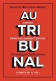 Dimitri Rouchon-Borie - Tribunal.