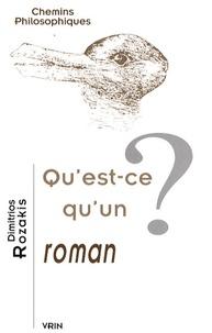 Deedr.fr Qu'est-ce qu'un roman ? Image