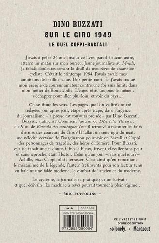 Dino Buzzati sur le Giro 1949. Le duel Coppi-Bartali