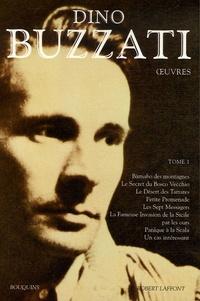 Dino Buzzati et Francis Lacassin - Oeuvres - Tome 1.