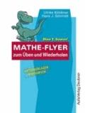 Dino T. Saurus' Mathe-Flyer zum Üben und Wiederholen 1 - Kopiervorlagen.