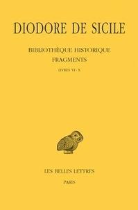 Corridashivernales.be Bibliothèque historique - Fragments Tome 1 Livres VI-X Image