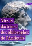 Diogène Laërce - Vies et doctrines des philosophes de l'Antiquité.