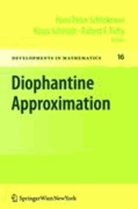 Diophantine Approximation - Festschrift for Wolfgang Schmidt.