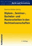 Diplom-, Seminar-, Bachelor- und Masterarbeiten in den Rechtswissenschaften.