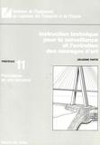 Direction des Routes - Instruction technique pour la surveillance et l'entretien des ouvrages d'art 2e partie - Fascicule 11, Fondations en site terrestre.