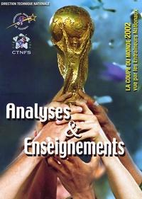 Galabria.be Analyses & Enseignements - La Coupe du monde 2002 vue par les entraîneurs nationaux Image
