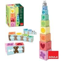 DISET FRANCE - Cubes à empiler de 1 à 10