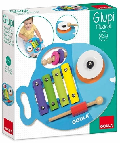 DISET FRANCE - Glupi musical 3 en 1