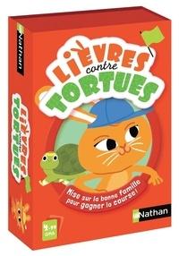DISET FRANCE - Jeu de cartes Lièvres contre Tortues par Nathan