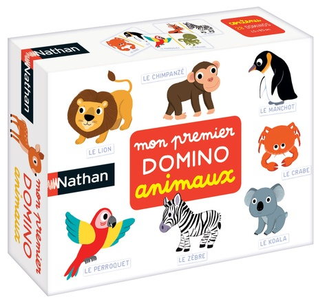 DISET FRANCE - Mon premier domino animaux