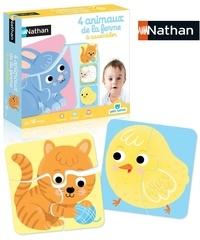 DISET FRANCE - Petit Nathan 4 animaux de la ferme à assembler