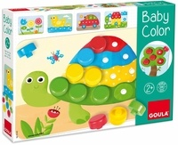 DISET - jeu de mosaïque en bois Baby Color de GOULA