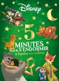 Disney et Emmanuelle Caussé - 12 histoires avec tes héros.