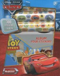 Disney - 300 stickers + Album Cars.