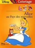 Disney - Alice au Pays des merveilles - Coloriage.