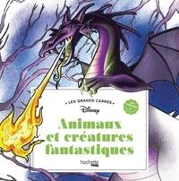 Disney - Animaux et créatures fantastiques - 45 coloriages anti-stress.